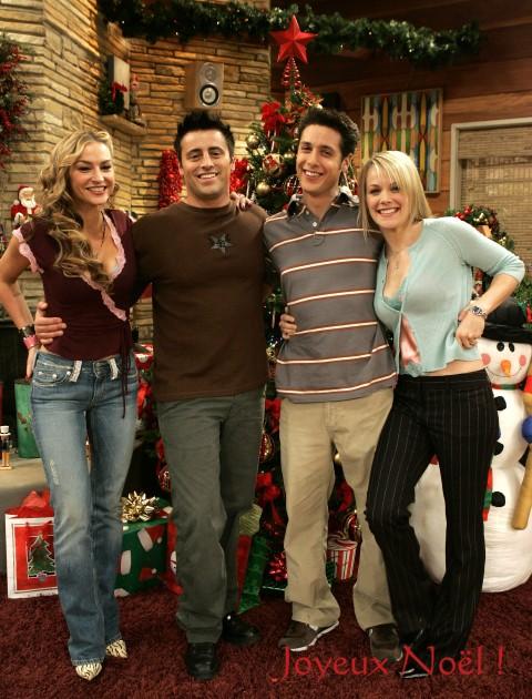 Le casting de Joey vous souhaite un Joyeux Noël !